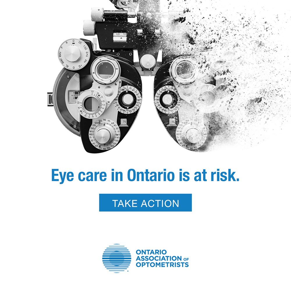 An open letter to our patients:  Optometrists like yours are the backbone of Ont…