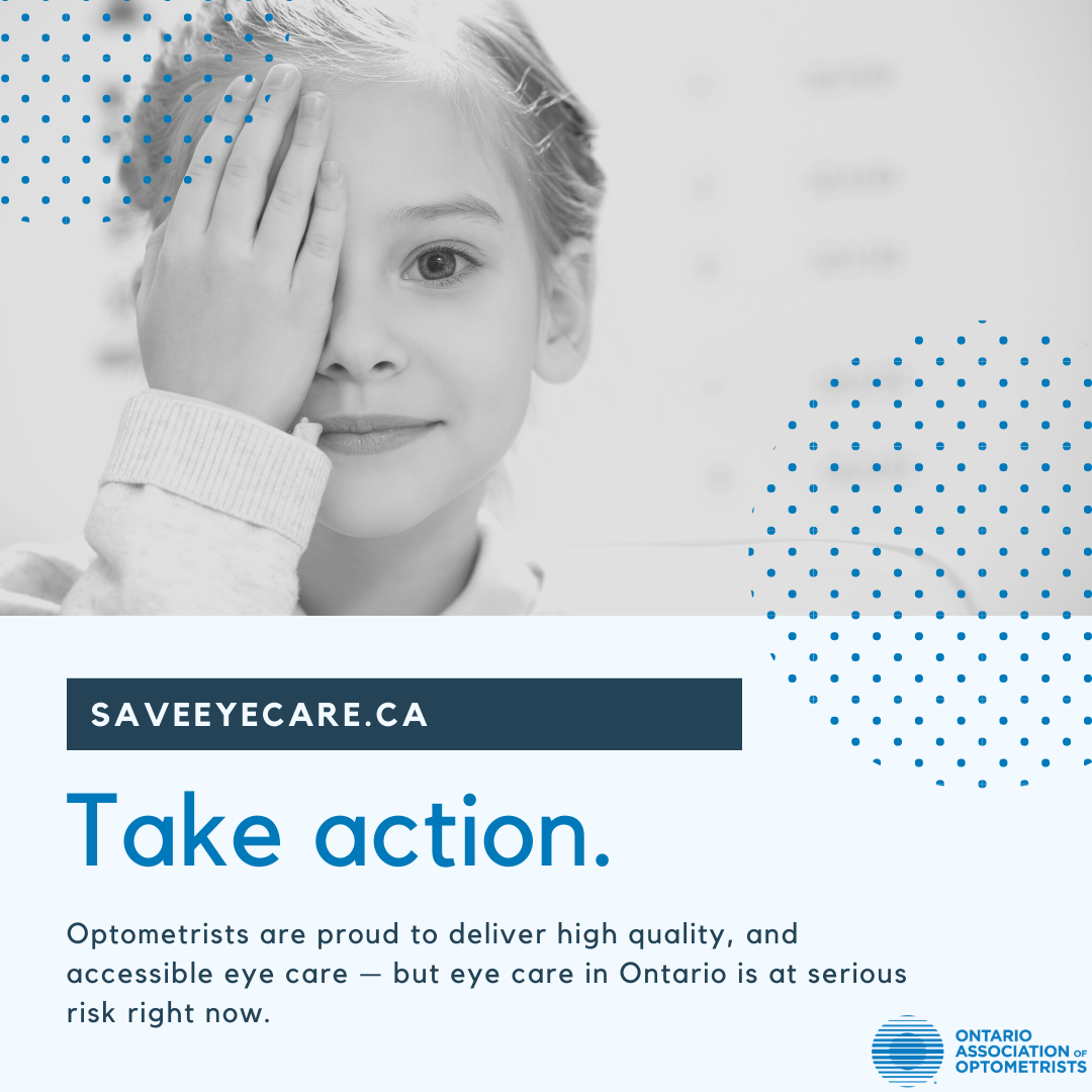 We need your support. Visit www.saveeyecare.ca to let the premier, minister of h…