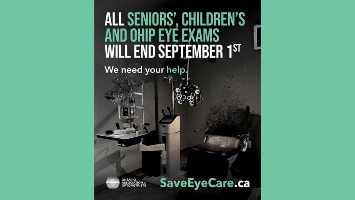 Chronic underfunding of Optometry in Ontario – A crisis 30 years in the making